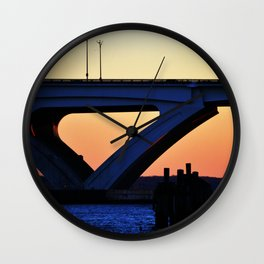 Connect the States Wall Clock