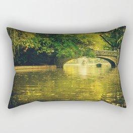 Rowing by nature Rectangular Pillow