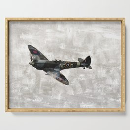Spitfire, WWII Serving Tray