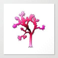 Joshua Tree Strawberry by CREYES Canvas Print