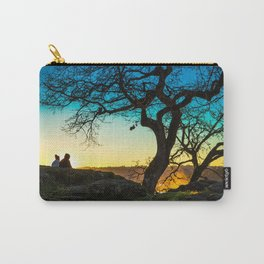Lovers on Sunset Hill Carry-All Pouch