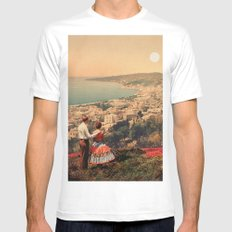 Is This The City We Dreamt Of Mens Fitted Tee X-LARGE White