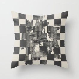 Identity Theft Throw Pillow