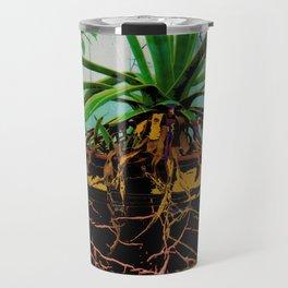FAVORITE GREEN AGAVE & ROOTS GREENHOUSE  PHOTO Travel Mug
