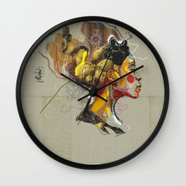 Erykah Badu - Soul Sister | Soul Brother Wall Clock