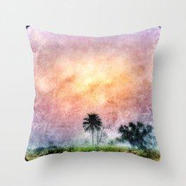 Sierra Palm Leone Throw Pillow