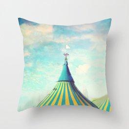 circus tent Throw Pillow