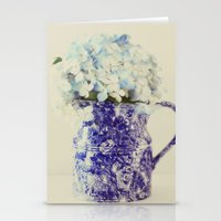 hydrangea Stationery Cards featuring Hydrangea by Beverly LeFevre