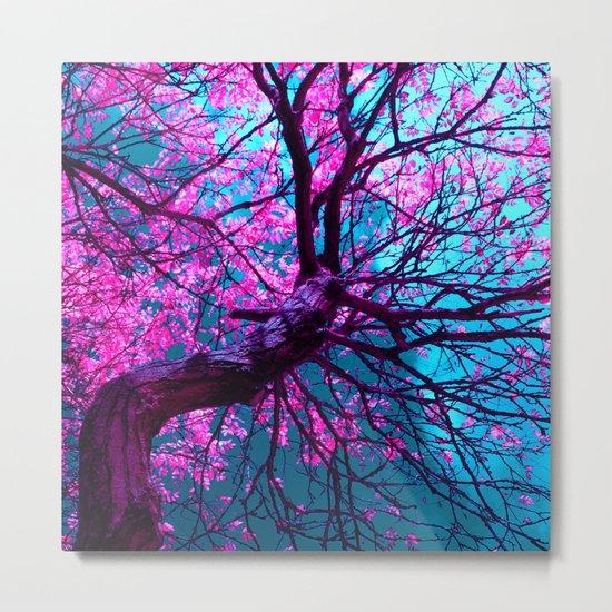 purple tree XII Metal Print