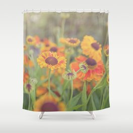 Flowers in the Summer Shower Curtain