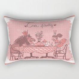 Tea Party! Rectangular Pillow