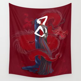 Dreaming Dragons Wall Tapestry