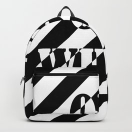 OFF WHITE LONG Backpack