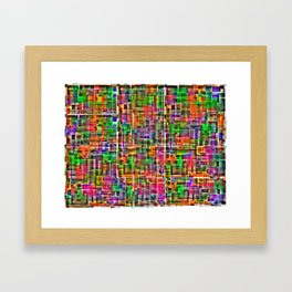 to 2...two too much? Framed Art Print