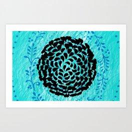 Water Nest Art Print