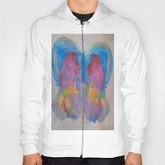 Pastel Ice Cream Butterfly Hoody