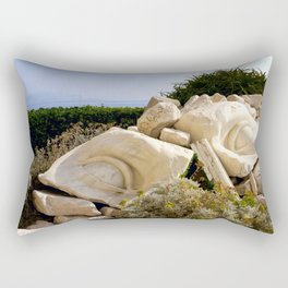 Shattered in Antibes Rectangular Pillow