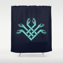 FATED : The Silent Oath - Symbol Shower Curtain