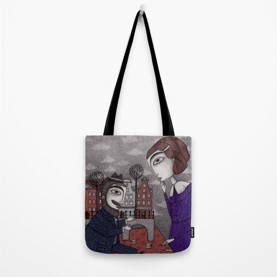 The Story Teller Tote Bag