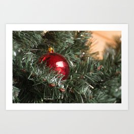 Christmas ball Art Print