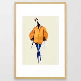 Architectural Fashion Framed Art Print
