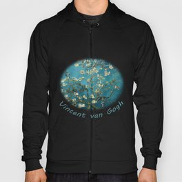 Blossoming Almond Trees, Vincent van Gogh. Famous vintage fine art. Hoody