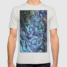 Deep Purple Abalone Shell T-shirt