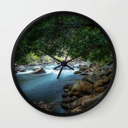 Photo California USA Kern River Nature stone Rivers river Stones Wall Clock