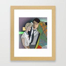 Joe and Cam's Arcade Framed Art Print