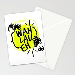 Wah Lau Eh! Stationery Cards
