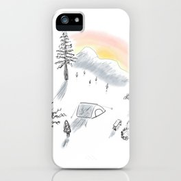 The little campsite iPhone Case