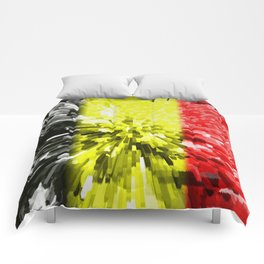 Flag of Belgium Comforters