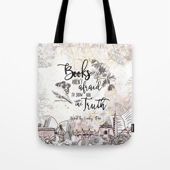 Want - Books Aren't Afraid Tote Bag