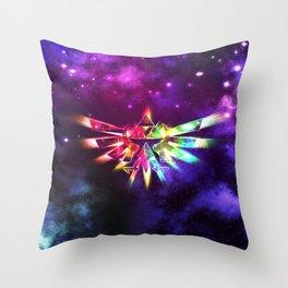 Triforce of Zelda Throw Pillow