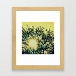 Powerful Sunrise Framed Art Print