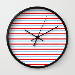 Mariniere and flag - Netherland Wall Clock