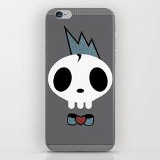 punk rawk boy iPhone & iPod Skin