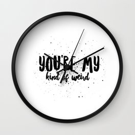 My Kind of Weird Wall Clock