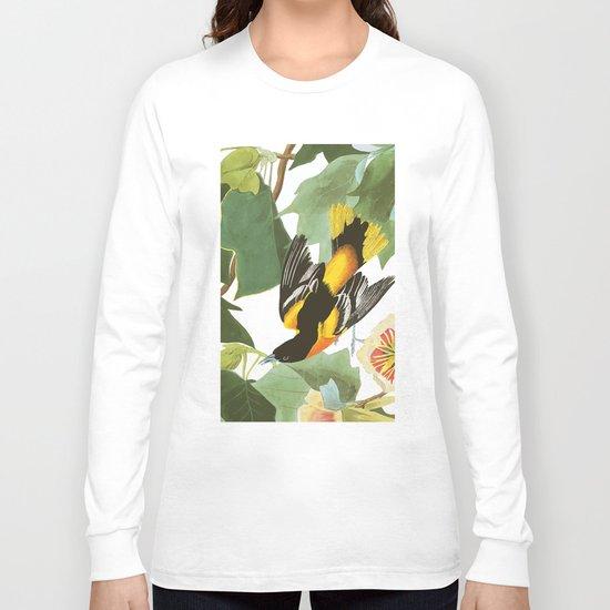 Icterus icterus Nature Long Sleeve T-shirt