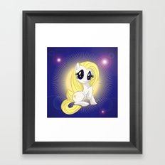 Dazzy | Mutant Little Ponies Framed Art Print