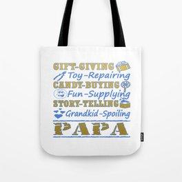 I'M A PROUD PAPA Tote Bag