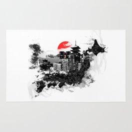 Abstract Tokyo-Shinjuku/Kyoto - Japan Rug