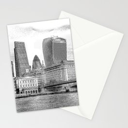 City Of London Art Stationery Cards