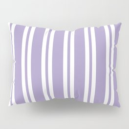 Lavender Wide Small Wide Stripes Pillow Sham