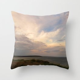 The Last Sunset Throw Pillow