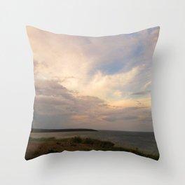 The Last Sunset Throw Pillow