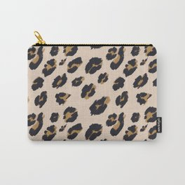 B&B Leopard Design Carry-All Pouch