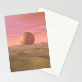 Desert Dream of Geometric Proportions Stationery Cards