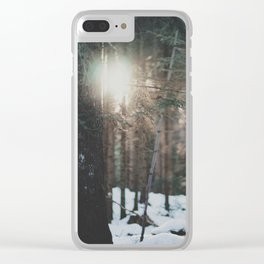 attersee (29) Clear iPhone Case