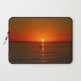 At The End Of The Day Laptop Sleeve